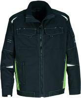 ROFA-Arbeits-Berufs-Bund-Jacke, Active, ca. 250 g/m², dunkelanthrazit-grün