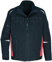 ROFA-Arbeits-Berufs-Bund-Jacke, Active, ca. 250 g/m², dunkelanthrazit-rostrot
