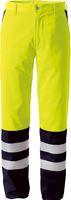 ROFA-PSA-Bekleidung, Warn-Schutz-Arbeits-Berufs-Bund-Hose DUO-COLOR 169, leuchtgelb/marine