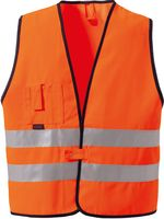 ROFA-Warn-Schutz, Arbeits-Sicherheits-Berufs-Weste 189, orange
