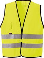 ROFA-Warn-Schutz, Arbeits-Sicherheits-Berufs-Weste 189, gelb