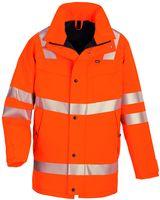 ROFA-Warn-Schutz-Arbeits-Berufs-Parka, Easy-Dry, ca. 150 g/m², leuchtorange
