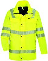 ROFA-Warn-Schutz-Arbeits-Berufs-Parka, Easy-Dry, ca. 150 g/m², leuchtgelb