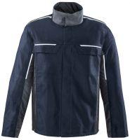 ROFA-Schweißer-Arbeits-Schutz-Berufs-Jacke, ALU Splash, ca. 375 g/m², navy-grau