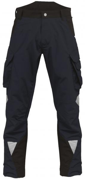 ROFA-Arbeits-Berufs-Bund-Hose, Wanted, ca. 250 g/m², navy/schwarz