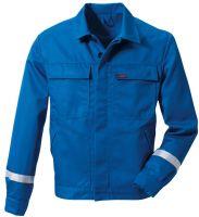 ROFA-Schweißer-Arbeits-Schutz-Berufs-Jacke, Nomex, ca. 265 g/m², kornblau