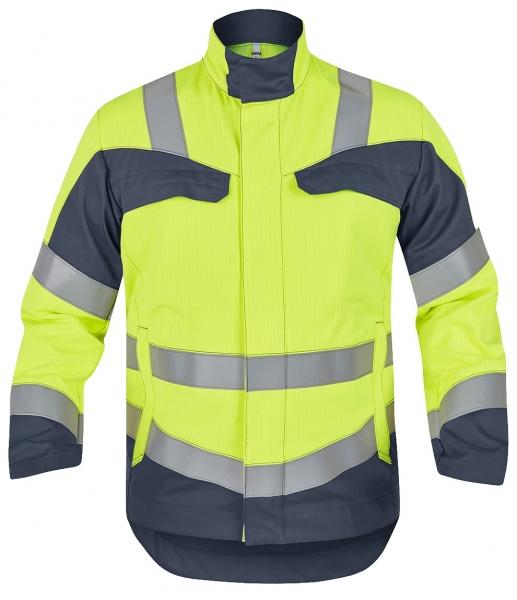 ROFA-Warnschutz-Jacke, Multi 7, leuchtgelb/grau
