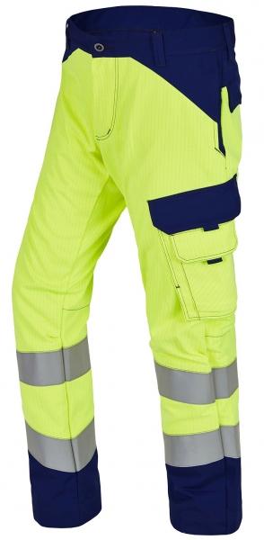 ROFA-Warnschutz-Bundhose, Multi 7, leuchtgelb/marine