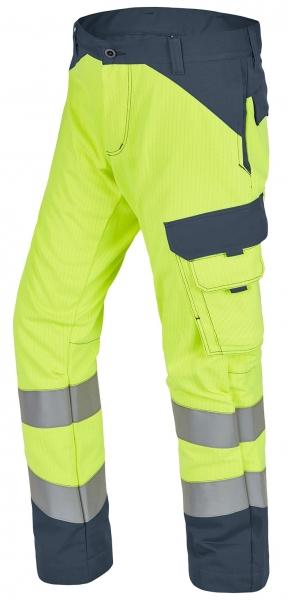 ROFA-Warnschutz-Bundhose, Multi 7, leuchtgelb/grau