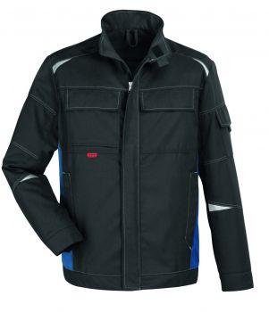 ROFA-Arbeits-Berufs-Bund-Jacke, Sparc, zweilagig, granitgrau/royalblau