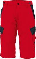 ROFA-Arbeits-Berufs-Shorts, Teamwork, ca. 295 g/m², rot-anthrazit