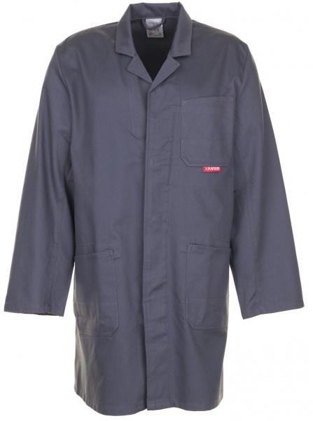 PLANAM Berufs-Mantel, Arbeits-Kittel, BW 290 grau