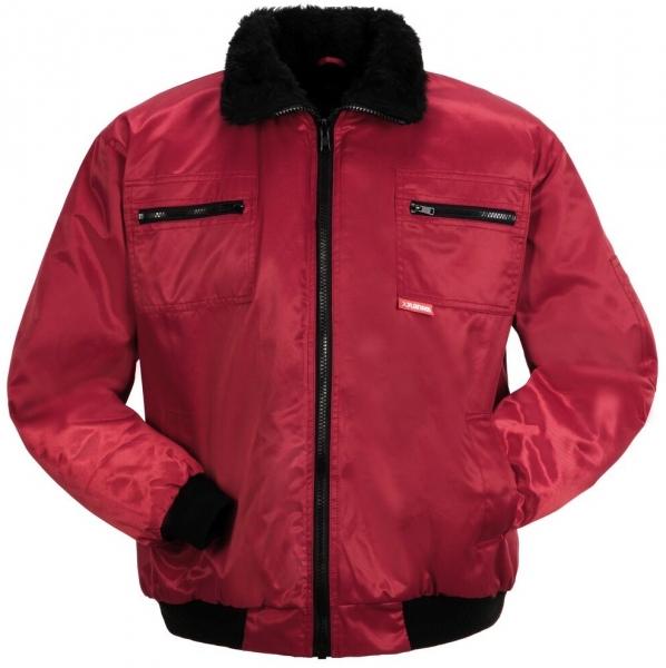 PLANAM-Kälte-Schutz, Winter-Arbeits-Berufs-Piloten-Jacke, Gletscher, rot