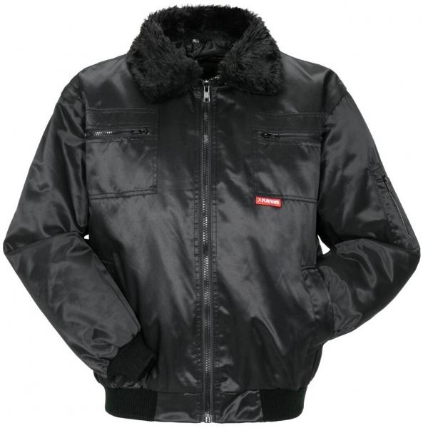 PLANAM Gletscher Comfort, Winter-Arbeits-Berufs-Jacke, schwarz