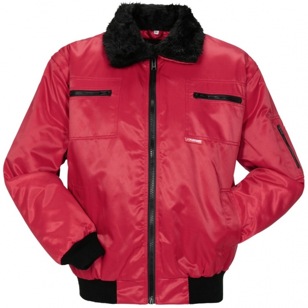 PLANAM Gletscher Comfort, Winter-Arbeits-Berufs-Jacke, rot