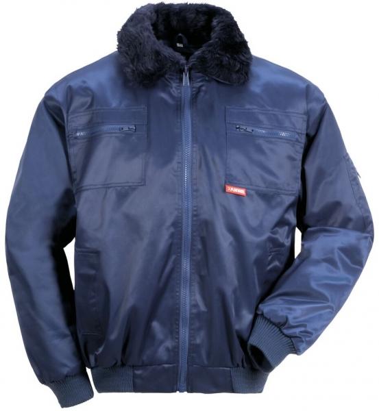 PLANAM Gletscher Comfort, Winter-Arbeits-Berufs-Jacke, marine