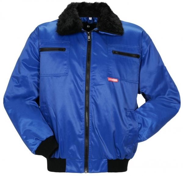 PLANAM Gletscher Comfort, Winter-Arbeits-Berufs-Jacke, kornblau