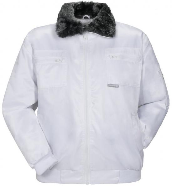 PLANAM-Winter-Gletscher-Comfort,  Wetter-Arbeits-Berufs-Jacke, weiss