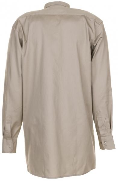 PLANAM-Twill-Köper-Arbeits-Berufs-Hemd, Langarm, 200 g/m², khaki