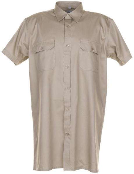 PLANAM-Twill-Köper-Arbeits-Berufs-Hemd, Viertelarm, 200 g/m², khaki