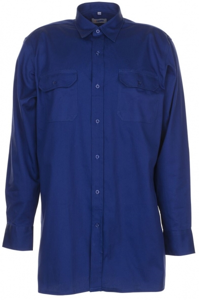 PLANAM-Twill-Köper-Arbeits-Berufs-Hemd, Langarm, 200 g/m², dunkelblau