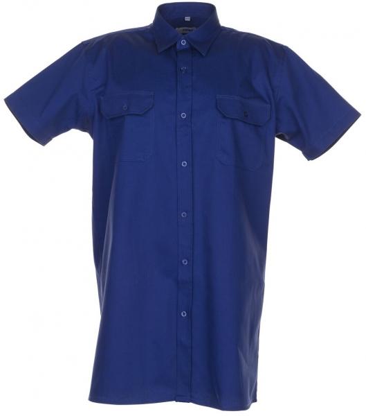 PLANAM-Twill-Köper-Arbeits-Berufs-Hemd, Viertelarm, 200 g/m², dunkelblau