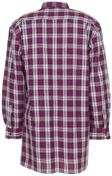PLANAM-Flanell-Arbeits-Berufs-Hemd, 2001, 160 g/m², rot