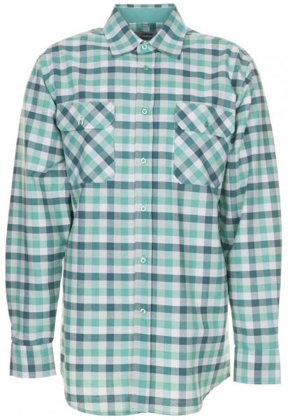 PLANAM-Country-Arbeits-Berufs-Hemd, 1/1 Arm, 160 g/m², grün kariert