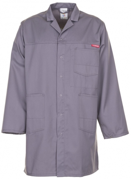 PLANAM Berufs-Mantel, Arbeits-Kittel, MG 260 grau