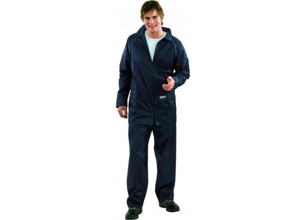 PLANAM Aqua-Regen-Schutz-Anzug, Set, marine