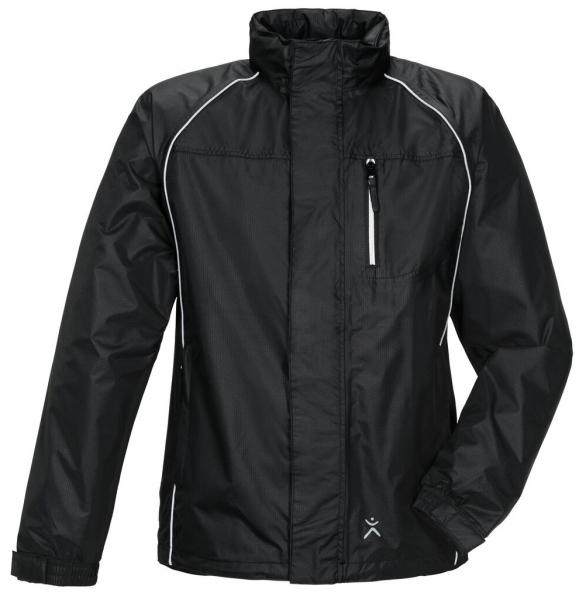 PLANAM Monsun-Regen-Nässe-Wetter-Arbeits-Berufs-Schutz-Jacke, schwarz