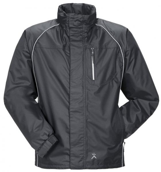 PLANAM Monsun-Regen-Nässe-Wetter-Arbeits-Berufs-Schutz-Jacke, grau