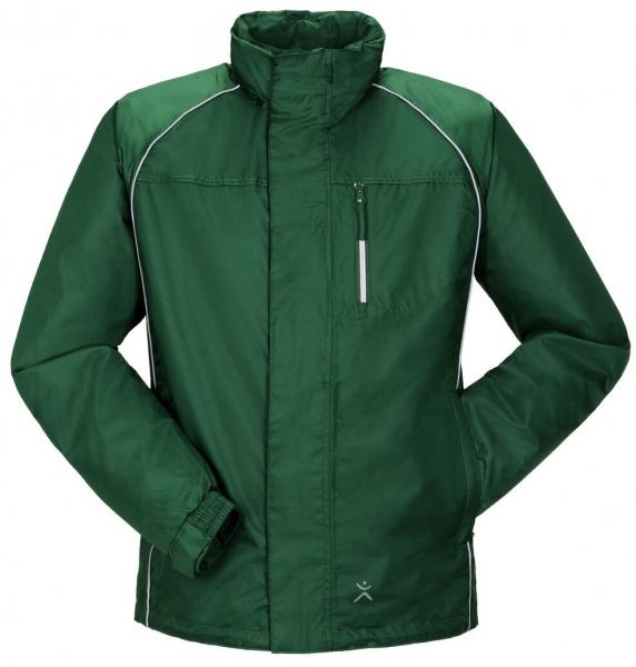 PLANAM Monsun-Regen-Nässe-Wetter-Arbeits-Berufs-Schutz-Jacke, grün