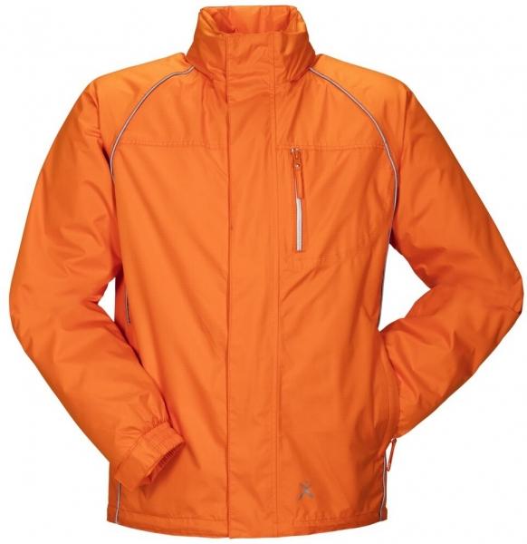 PLANAM Monsun-Regen-Nässe-Wetter-Arbeits-Berufs-Schutz-Jacke, orange