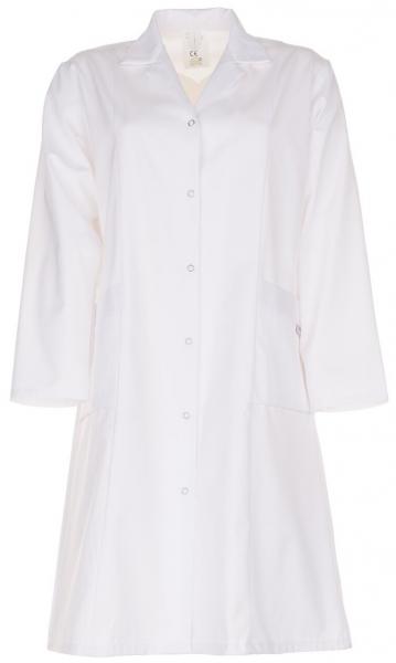 PLANAM Damen-Berufs-Mantel (1/1 Arm), Arbeits-Kittel, MG 230, weiß