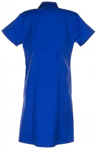 PLANAM Damen-Berufs-Mantel (1/4 Arm), Arbeits-Kittel, MG230, kornblau
