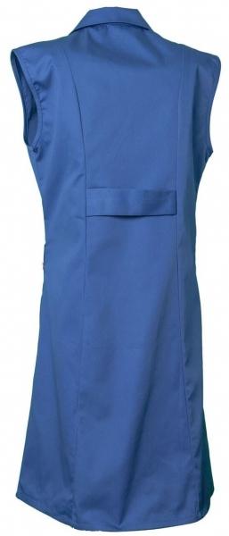 PLANAM Damen-Berufs-Mantel (ohne Arm), Arbeits-Kittel, MG 230, kornblau