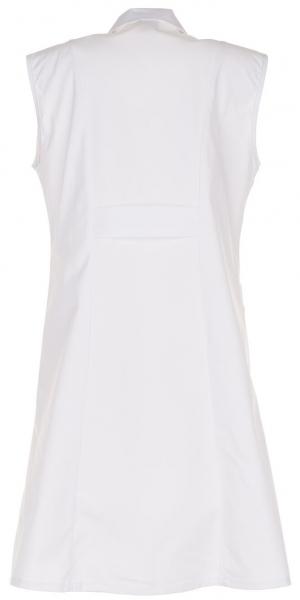 PLANAM Damen-Berufs-Mantel (ohne Arm), Arbeits-Kittel, MG 230, weiß