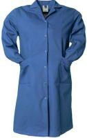PLANAM Damen-Berufs-Mantel (1/1 Arm), Arbeits-Kittel, BW 230, kornblau