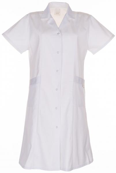 PLANAM Damen-Berufs-Mantel (1/4 Arm), Arbeits-Kittel, BW 230, weiß
