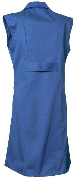 PLANAM Damen-Berufs-Mantel (ohne Arm), Arbeits-Kittel, BW 230, kornblau