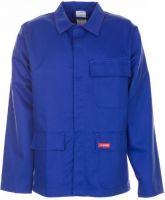 PLANAM Schweißer-Arbeits-Schutz-Berufs-Jacke, Hitze-/Schweißerschutz-Bekleidung, kornblau