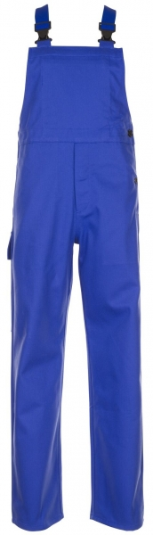 PLANAM Schweißer-Arbeits-Schutz-Berufs-Latz-Hose, Hitze-/Schweißerschutz-Bekleidung kornblau