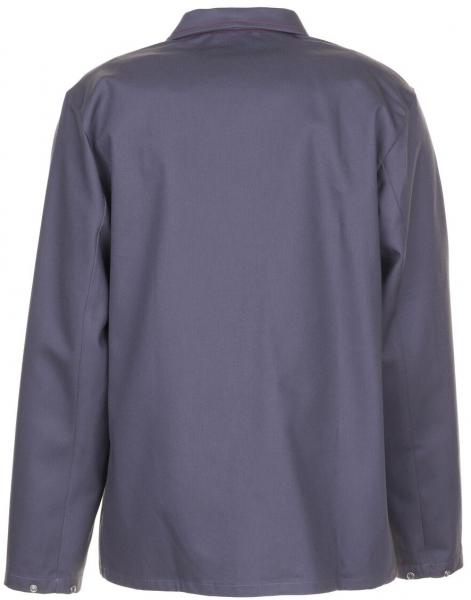 PLANAM Schweißer-Arbeits-Schutz-Berufs-Jacke, Hitze-/Schweißerschutz-Bekleidung, grau