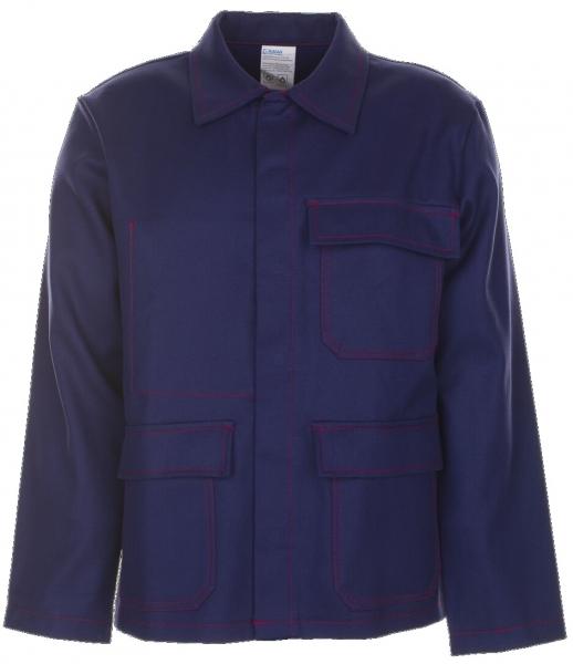 PLANAM Schweißer-Arbeits-Schutz-Berufs-Jacke, Hitze-/Schweißerschutz-Bekleidung, marine