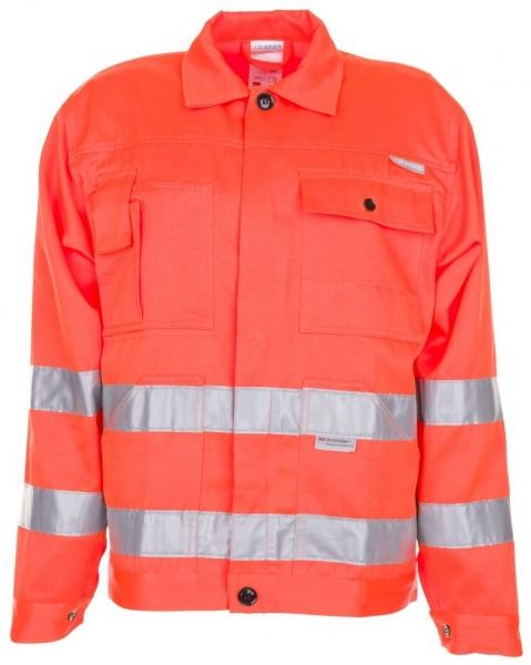 PLANAM Arbeits-Berufs-Bund-Jacke, Warn-Schutz-Bekleidung, MG 290, uni orange