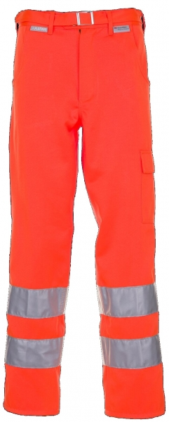 PLANAM Bund-Hose Warn-Schutz-Bekleidung, MG 290, uni orange
