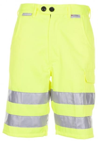 PLANAM Shorts Warn-Schutz-Bekleidung uni gelb