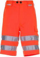 PLANAM Shorts Warn-Schutz-Bekleidung uni orange