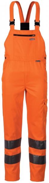 PLANAM Arbeits-Berufs-Latz-Hose, Warn-Schutz-Bekleidung, uni, orange